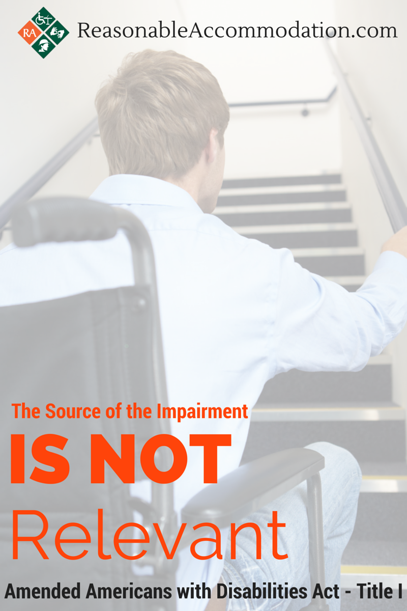 Source of Impairment NOT relevant