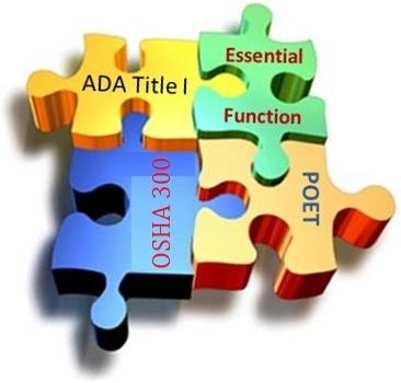 The Ergonomic Evaluator's ADA Title I Training