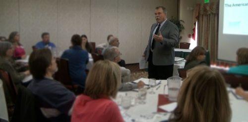 Roy Matheson IHMS Conference Burlington Vermont