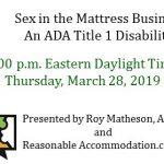 Invitation to register for a free ADA Title 1 webinar.