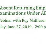 Absent Returning Employee June 27 Slider